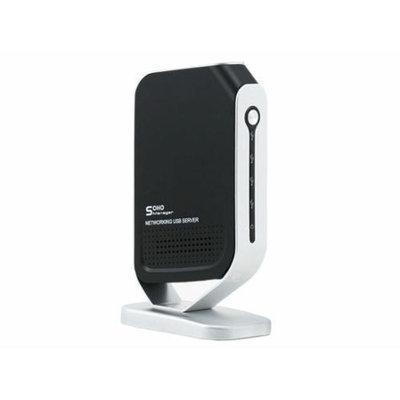 Monoprice Networking 4 Port USB 2.0 Print Server - Share 4 USB Devices