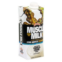 CytoSport Muscle Milk Ready-to-Drink Shake, Vanilla Creme, 17 Ounce Cartons (Pack of 12)
