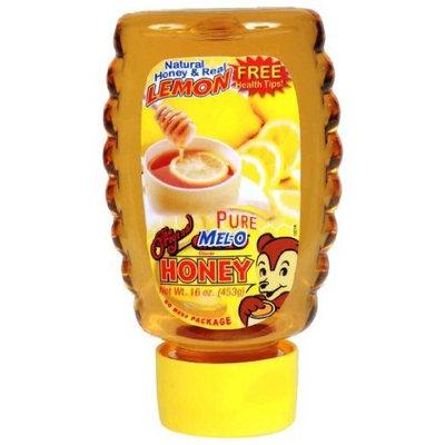 Mel O Mel-O Pure Honey with No Mess Cap, 24-Ounce (Pack of 3)