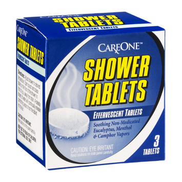 CareOne Shower Tablets - 3 CT