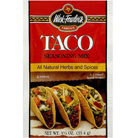 Wick Fowler's Taco Seasoning Mix, 1.25 oz (Pack of 24)
