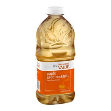Guaranteed Value Apple Juice Cocktail