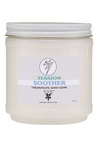 Tension Soother Bath Soak V'TAE Parfum and Body Care 23 oz Salt