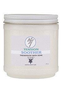 Tension Soother Bath Soak V'TAE Parfum and Body Care 23 oz Salt