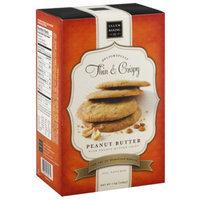 Salem Baking Co. Delightfully Thin & Crispy Peanut Butter Cookies, 7 oz, (Pack of 6)