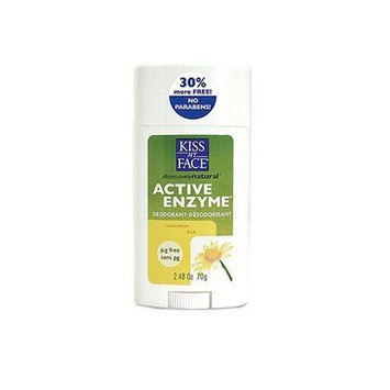 Kiss My Face Active Enzyme Stick Deodorant - Summer, 2.48 oz