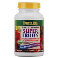 Nature's Plus Adult's Chewable Super Fruits -- 60 Tablets [Health and Beauty]