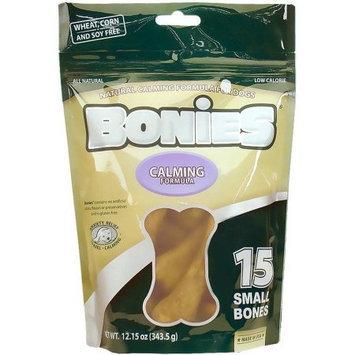Pet Health Solutions BONIES Natural Calming Multi-Pack SMALL (15 Bones / 12.15 oz)