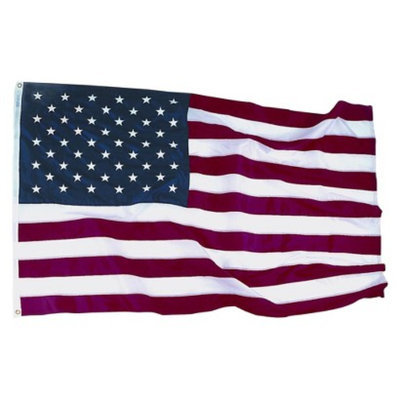 Annin Nylon U.S. Embroidered Flag - 3'x5'