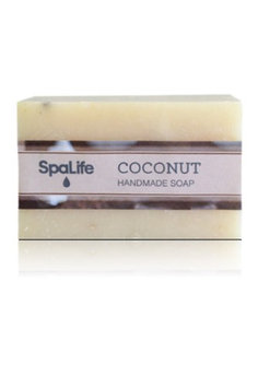 Msl-soap1-cc Spa Life Hand-made Coconut Soap (Pack of 2)
