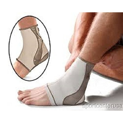 Mueller Life Careª Contour Ankle Support Sleeve, Small 10-12