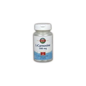 L-Carnosine 500 mg Kal 30 Tabs