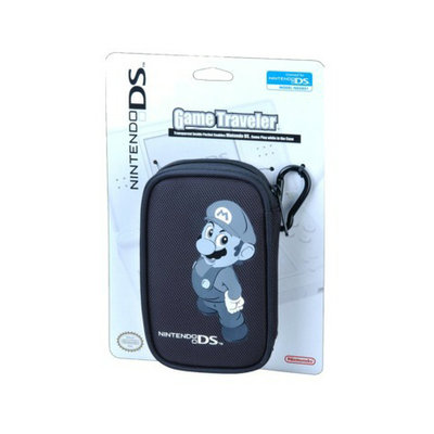 ALS Industries Mario Play Through Case for Nintendo DS - Black