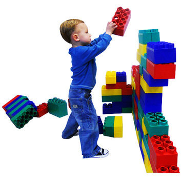 Serec Entertainment Kids Adventure Jumbo Blocks Learner Set - 48 Piece
