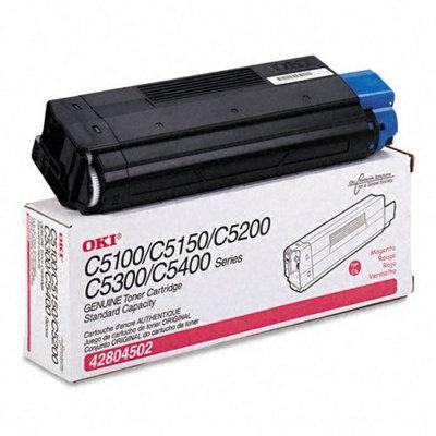 Okidata Corporation 42804502 Toner Cartridge, Magenta - OKIDATA