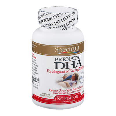 Spectrum Essentials Prenatal DHA Softgels - 60 CT