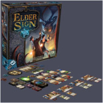 Fantasy Flight Games Elder Sign Dice and Card Game