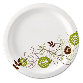 Dixie Paper Plates Ultralux Pathways
