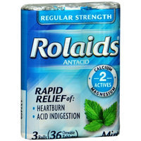 Rolaids Regular Strength Antacid Chewable Mint Tablets - 36 Count