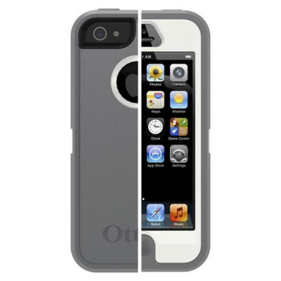 Otterbox OtterBox Defender Series Cell Phone Case for iPhone 5/5S - Gray/White
