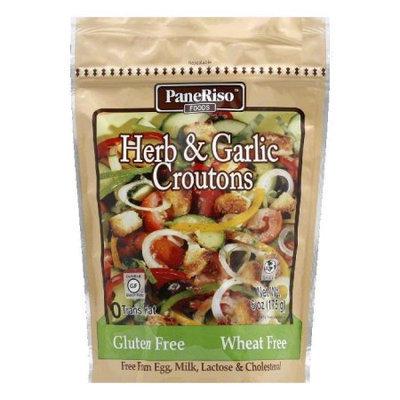 Paneriso Paneriso Garlic Herb Croutons Wheat Free Gluten Free 6 Oz Pack Of 6