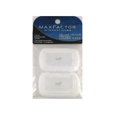 Max Factor Deluxe Velour Pressed Powder Puffs Sponges 109
