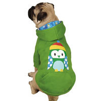 Casual Canine ZM6646 10 08 North Pole Pals Hoodie XS Owl