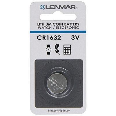LENMAR LENWCCR1632S Replacement Battery for Panasonic, Sony, Toshiba CR1632