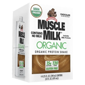 Muscle Milk Organic Chocolate Protein Shake - 33 oz