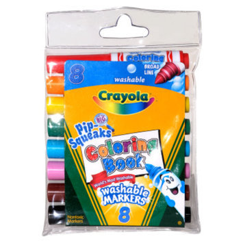 Geddes Crayola Pip-Squeaks Washable Markers, 8 pack