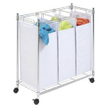 Honey-Can-Do Urban Triple Sorter with Casters