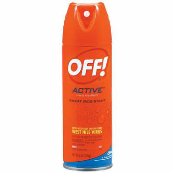 OFF! Active Sweat Resistant Insect Repellent 1