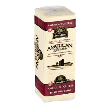 Boar's Head Sliced White American Cheese - 120 CT