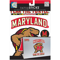 NCAA Removable Laptop Sticker, Maryland Terps