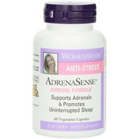 Natural Factors Adrenasense Veg-Capsules, 60-Count