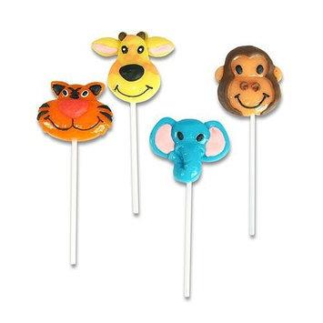 Shindigz Zoo Animal Lollipops Dozen