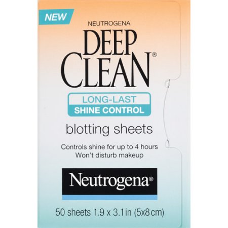 Neutrogena® Deep Clean Shine Control Blotting Sheets