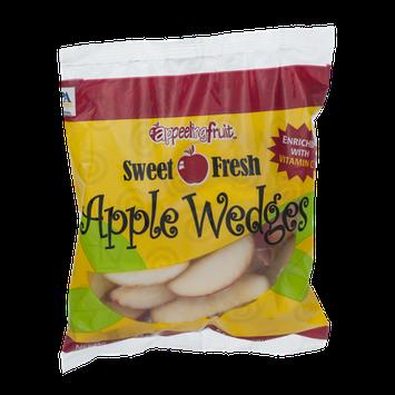 Appeeling Fruit Apple Wedges Sweet Fresh
