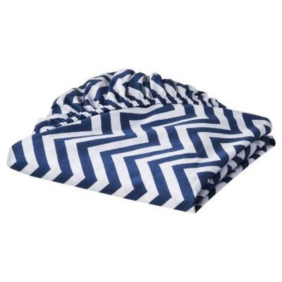 Woven Sheet - Blue Chevron by Circo