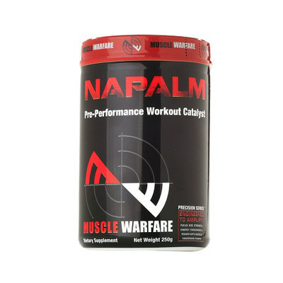 Muscle Warfare NAPALM Pre-Performance Workout Catalyst Grape Splash