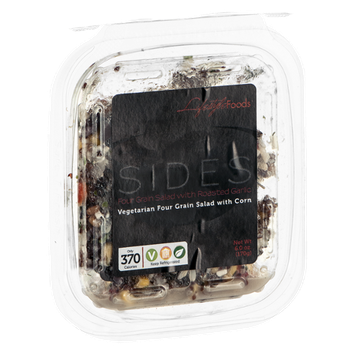 Lifestyle Foods Sides Four Grain Salad With Roasted Garlic