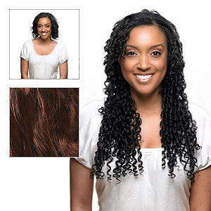 Effortless Extensions FEELsoREAL Yaki Synthetic Soft Rod Curl Hair Extension