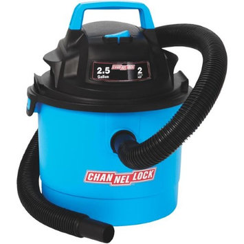 Channellock Products Channellock 2.5 Gallon WetDry Vacuum
