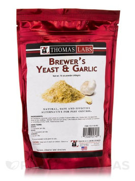 Thomas Laboratories Thomas Labs Brewer's Yeast & Garlic (16oz powder)