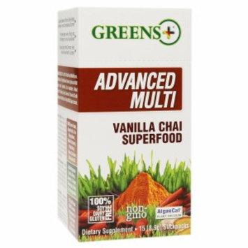 Greens Plus - Smart & Fit Superfood Blend Vanilla Chai - 15 x 8.9g. Stickpacks