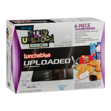 Lunchables Uploaded 6-Piece Chicken Dunks