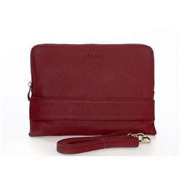 JILL-E DESIGNS LLC Jill-E Designs LLC Ivy Leather Tablet Clutch, Red