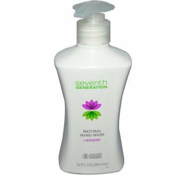 Seventh Generation Natural Hand Wash Lavender 12 fl oz Case of 8