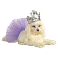 Rubie's Rubies Tiara with Purple Stones Pet Costume - S/M