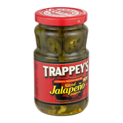 Trappey's Sliced Jalapeno Peppers Hot